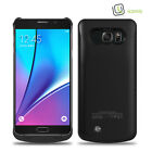2A Rapid Charge, 4200 mAh Slim External Battery Case for Samsung Galaxy Note 5 <br/> Pass-Through Charging, Charge Phone Battery in Priority