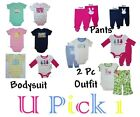 Easter 1st Outfit Holiday Bodysuit Shirt Pants Boys Girls Creeper Rabbit Baby
