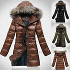 Maggie Tang Women Down Winter Trench Coat Jacket Parka Outerwear K-C077