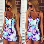 Sexy Women Celeb Playsuit Party Evening Summer Ladies Dress Jumpsuit Shorts 6-12