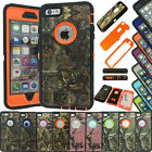 Shockproof Dirtproof Tree Grass Forest Camo Case Cover For iPhone 4 4S 5 5S New