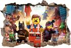 LEGO MOVIE Smashed Wall 3D Decal Removable Graphic Wall Sticker Mural Kids H152