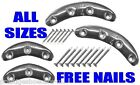 Shoe Repair Heel Plates Toe Plates Metal Segs like Blakeys Protectors FREE NAILS