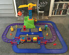 RARE ELC HAPPYLAND COMPLETE SET CONSTRUCTION CRANE TRAIN TUNNEL MOUNTAIN VEHICLE