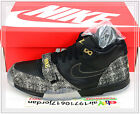 2014 Nike Air Trainer 1 MID PRM QS PAID IN FULL Black Gold 607081-002 Super Bowl