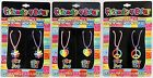 Best Friends 4 Ever Friendship Set of 2 Necklaces Jewelry Flower Heart Peace New