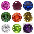 Lab-Created Synthetic Corundum & Spinel Round Multi-Color Loose Stones(3mm-10mm)