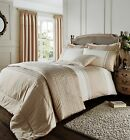Catherine Lansfield Lille Cream/Gold Luxury Embroidered Bedding