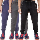 Mens Quilted Sweatpants Joggers Skinny Slim Fit Stretch Cuffed by AD 26-40 Messi