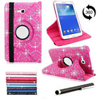 "Samsung Galaxy Tablet 360 Leather Rotate Case Cover Tab 3 7""&10.1"" P3200/P5200"