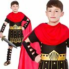 BOYS ROMAN SOLDIER FANCY DRESS COSTUME GLADIATOR WARRIOR CHILDS GREEK BOOK WEEK