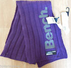 Bench girl winter scarf purple ECLIPSE BNWT New sizes S/M or M/L