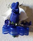 Royal Blue Rose Real Touch Calla Lily Corsage or Boutonniere