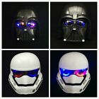 Star Wars Mask Stormtrooper Darth Vader Light Up Kids Mask Costume Party $16.99 AUD