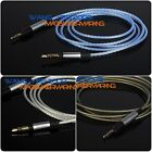 Upgrade Silver Plated HIFI OFC Cable For KRK KNS8400, KNS6400 Studio Headphone
