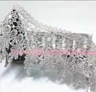 FP54C 1 Yards Lace Trim Ribbon For Dress Skirt Veil Embroidered DIY Sewing Craft