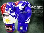 TWINS BOXING GLOVES MUAY THAI FIGHTING MMA FANCY PHILIPPINES FLAG 8 10 12 14 16