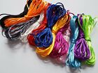 5m Silky Nylon Cord - 2mm Thickness [Various Colours Available]
