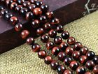"Natural Red Tiger's Eye Gemstone Round Spacer Beads 16"" 4MM 6MM 8MM 10MM 12MM"