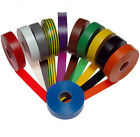 10m 5Colors Fashion Vinyl Electrical Tape Insulation Adhesive Tape 18mm NEW