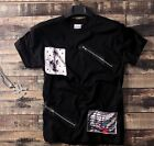 NEW graffiti hip-hop men's sleeve t-shirt clothes casual man Short sleeve M-5XL