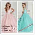 Easter Flower Girl Dress for Princess Wedding Birthday Prom Ball Pageant Party