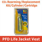 CO2 Rearming Cartridge for Manual PFD Inflatable Life Jacket CO2 Replacement