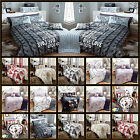 5pc Bed in a Bag Duvet Cover Complete Modern Bedding Set Double & King Size Set