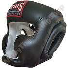 Twins Special Muay Thai Head Guard Protection HGL-3 Black Size M-L.