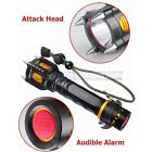 New Military Grade Tactical LED Flashlight Attack Heads Alarm 2000LM G700 Style