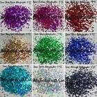 "2mm Holographic Chunky Glitter 1/12"" - 1 teaspoon bag ~ Hexagon Nail Art Crafts"