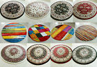 EXTRA LARGE HUGE ROUND CIRCLE TRADITIONAL MODERN THICK SOFT HEAVY AREA RUG MATS