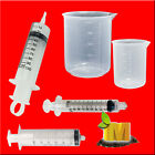 Plastic Reusable Disposable Syringes Measuring Cup Hydroponic Nutrient Measuring