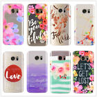 For Samsung Galaxy S7 edge Rubber Tpu Silicone Phone Case Cover