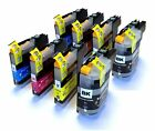 LC123 x2 Full Sets Compatible Ink Cartridges LC-123