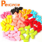 20PCS Pets Soft Rubber Nail Caps For Cat Paw Claws Adhesive Glue Cover Protector
