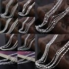 "22""-30"" 5pcs/Lot 2mm 925sterling Silver Necklace Chain Charm Link Wholesale"