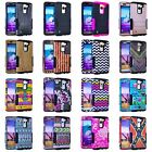 For LG K7 Protective Shockproof Rugged Impact Hard & Soft Hopper Cover Case
