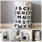 Zakka Canvas Storage Bag Laundry Bag Baby Play Mat Toy Clothes Organizer XHH8005