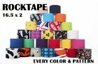 ROCKTAPE Kinesiology Tape 16.5' x 2' Rolls! Reduce Muscle Fatigue & Promote Form