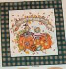 "DAISY KINGDOM ""HARVEST PILLOW PALS"" COTTON PANEL"