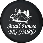 Small House Big Yard Camping Outdoors Tent Trailer RV Spare Tire Cover OEM Vinyl