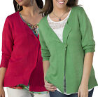 Women's Size 12 - Plus 30 Button Cardigans in  -Green or Red