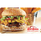 Red Robin Gift Card - $25 $50 Or $100 - Email Delivery For Sale