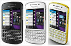 BlackBerry Q10-16GB WIFI QWERTY GSM Unlocked Smartphone Black/White/White&Gold