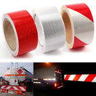 10M Reflective Safety Warning Conspicuity Tape Sticker Roll Film Trailer Camper
