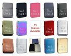 No. 1 Uncle 150 Personalised Engraved Star Lighter In Gift Tin