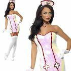 Ladies Nurse Dazzle dressing up costume sexy outfit adult party new hospital tv