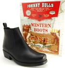 Bottes BOTTINES MOTO Homme Cuir JOHNNY BULLS Pointure 38 39 40 41 42 43 44 45 46