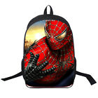 backpack Spiderman American hero bookbag shoulder bag cartoon 16'' double deck